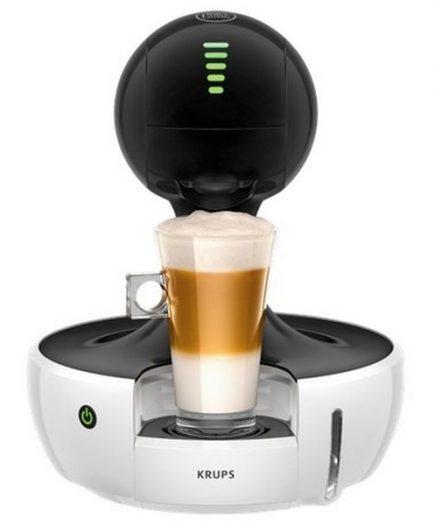xekios Cafetière à capsules Krups KP3501 Drop Dolce Gusto 15 bar 0,8 L 1500W Blanc