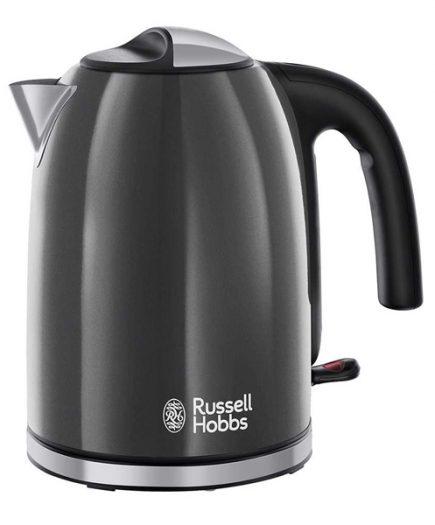 xekios Boulloire Russell Hobbs 222221 2400W 1,7 L Gris Noir