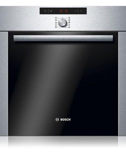 xekios Four à pyrolyse BOSCH HBA74R251E 51 L 3570W Noir Acier inoxydable