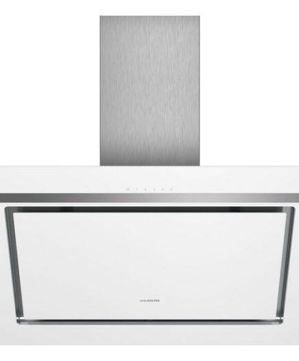 xekios Hotte standard Siemens AG 670 m3/h 80cm LED touchControl Blanc Verre