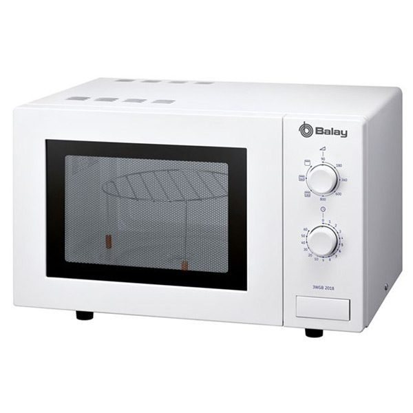 xekios Micro-ondes avec Gril Balay 3WGB2018 17 L 800W Blanc