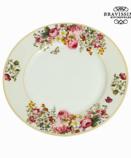 xekios Assiette plate bloom white - Collection Kitchen's Deco by Bravissima Kitchen
