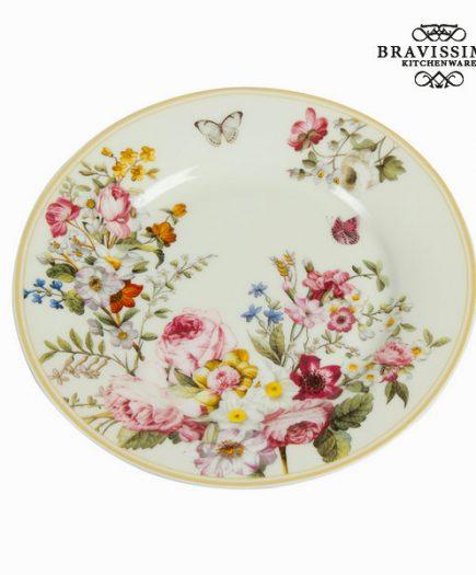 xekios Assiette plate Porcelaine (Ø 19 cm) - Collection Kitchen's Deco by Bravissima Kitchen