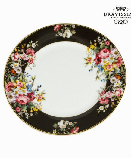 xekios Assiette plate Porcelaine (Ø 27 cm) - Collection Kitchen's Deco by Bravissima Kitchen