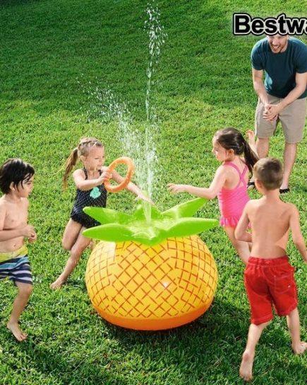 xekios Ananas gonflable Bestway 37978 (81 x 76 x 64 cm) Jaune Vert
