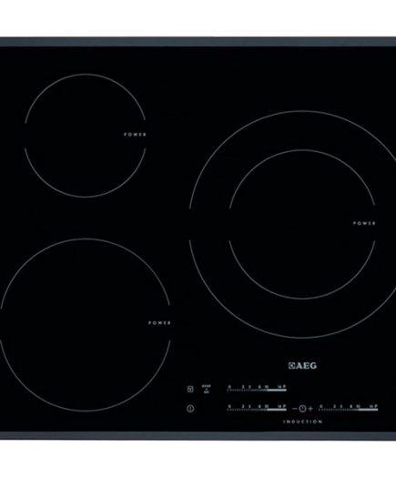 xekios Plaque à Induction Aeg HK6532H2FB 60 cm Noir (3 cuisinière)