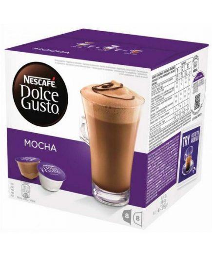 xekios Capsules de café avec étui Nescafé Dolce Gusto 49523 Mocha (16 uds)