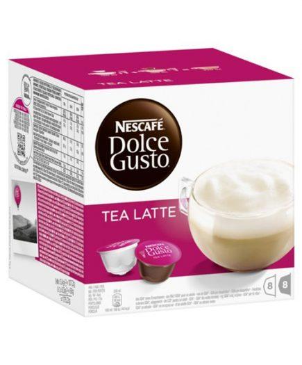 xekios Capsules de café avec étui Nescafé Dolce Gusto 37676 Tea Latte (16 uds)