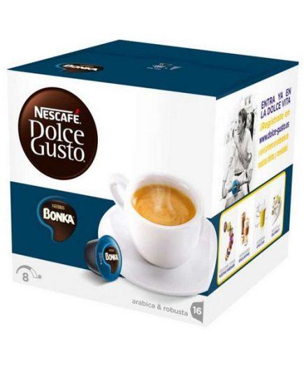 xekios Capsules de café avec étui Nescafé Dolce Gusto 13758 Espresso Bonka (16 uds)