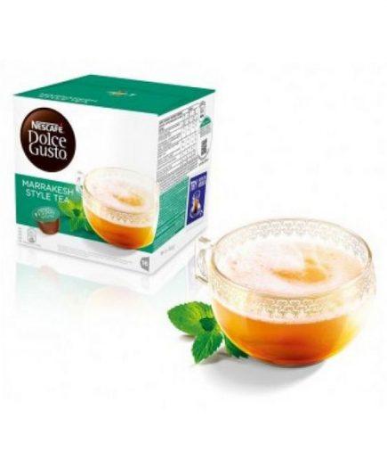 xekios Capsules de café avec étui Nescafé Dolce Gusto 55290 Marrakesh Style Tea (16 uds)