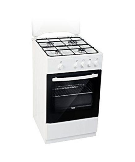 xekios Cuisinière au gaz butane Teka FS502 4GG 50 cm 43 L 5550 W Blanc (4 cuisinière)