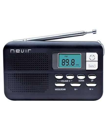 xekios Radio transistor NEVIR NVR-127 D Noir