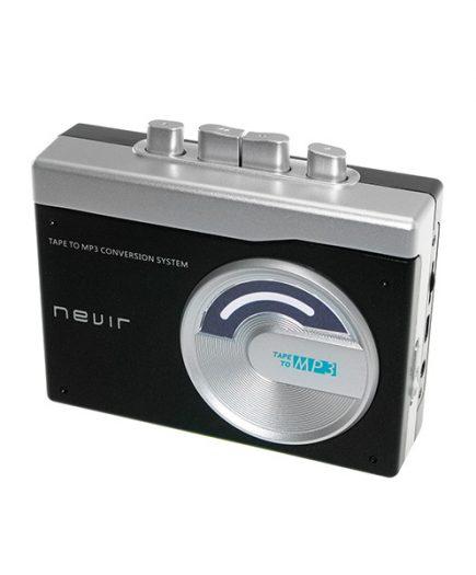 xekios Lecteur convertisseur cassette MP3 NEVIR NVR-417 Noir
