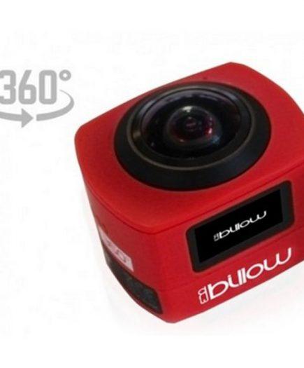 xekios Caméra de sport Billow XS360PROR 16 Mpx HD 220º Rouge
