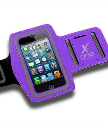 xekios Bracelet de course en néoprène X-ONE 106184 Taille L Violet