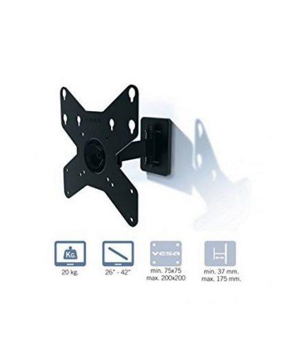 xekios Support de TV Gisan AX210 26-42 20 kg Noir