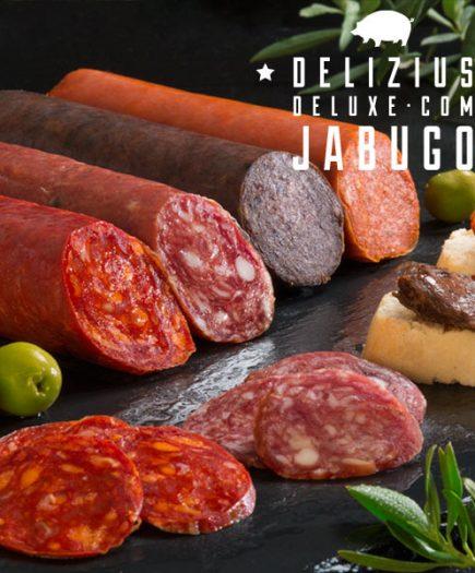 xekios Charcuterie Ibérique Delizius Deluxe 1 kg (pack de 4)