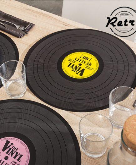 xekios Dessous-de-plat Disco Retro