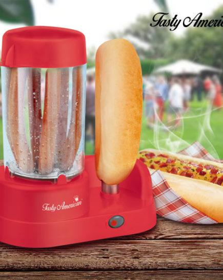 xekios Appareil à Hot Dogs Tasty American