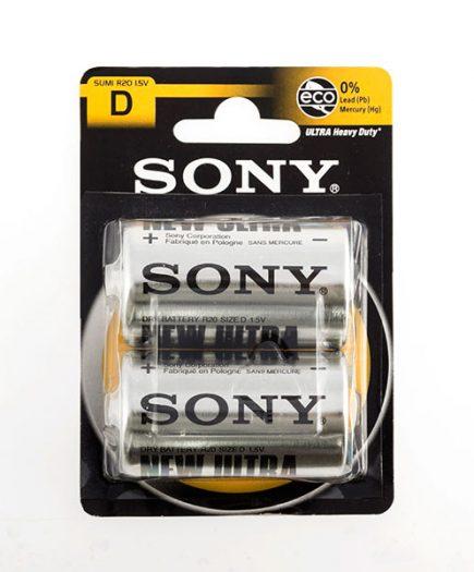 xekios Piles Salines Ultra Sony C R14 d'1,5V (pack de 2)