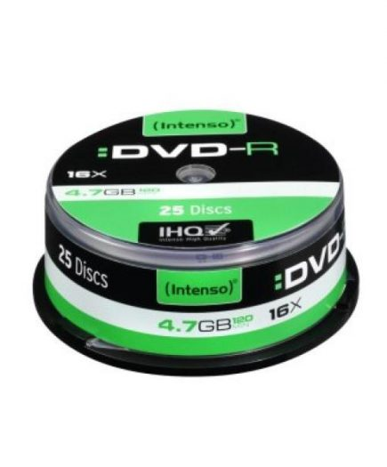 xekios DVD-R INTENSO 4101154 16x 4.7 GB 25 pcs