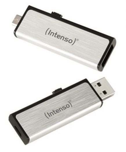 xekios Clé USB et Micro USB INTENSO 3523460 8 GB Argent