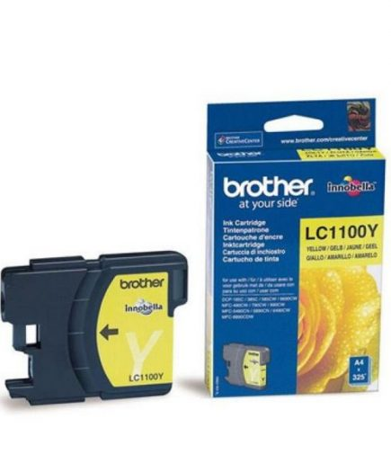 xekios Cartouche d'encre originale Brother LC1100Y Jaune