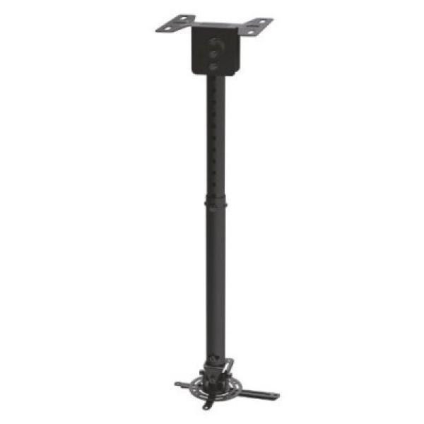 xekios Support de Toit Inclinable et Rotatif pour Projecteur TooQ PJ3030TN-B 20kg 57,5 - 82,5 cm -20º/+20º 360º Noir