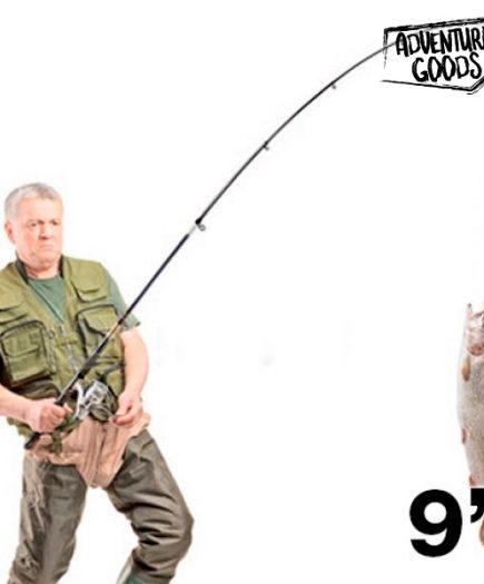 xekios Ensemble canne à pêche 2,70 m/9 pouces