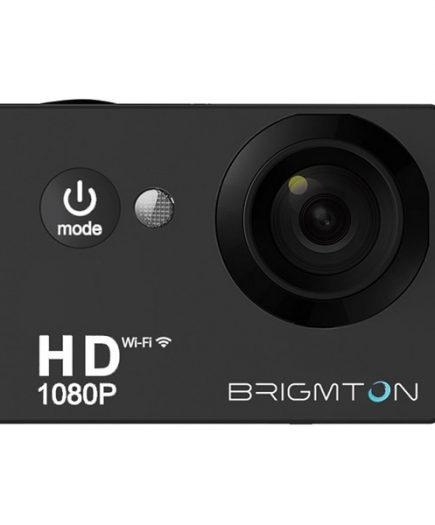 xekios Caméra de sport BRIGMTON BSC-8HD HD 1080p 170º 30fps Noir