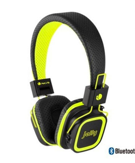 xekios Casques Bluetooth avec Microphone NGS YELLOWARTICAJE SD