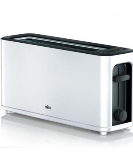 xekios Grille-pain Braun HT3100WH 1000W Blanc