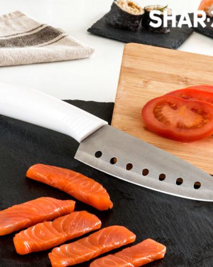 xekios Couteau Japonais avec des Trous Samurai Blade