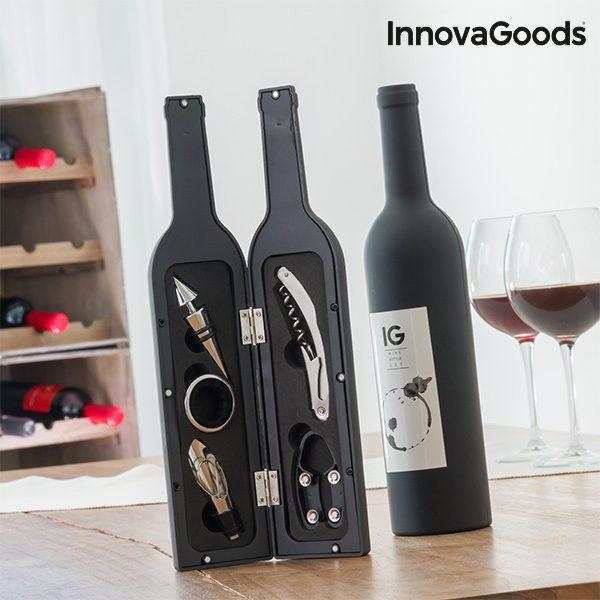 xekios Boîte à Bouteille de Vin InnovaGoods (5 Pièces)