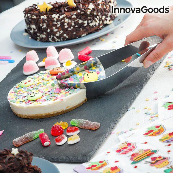 xekios Coupeur-Serveur de Gâteaux InnovaGoods