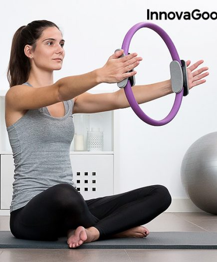xekios Anneau de Résistance de Pilates avec Guide d'Exercices InnovaGoods