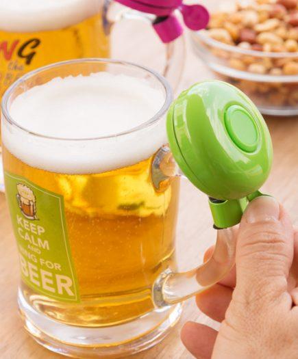 xekios Chope de bière avec sonnette