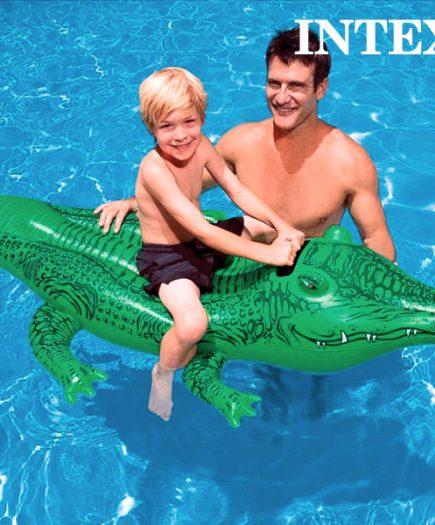 xekios Crocodile Gonflable Intex