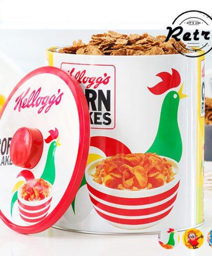 xekios Boîte Vintage Métallique Kellogg's