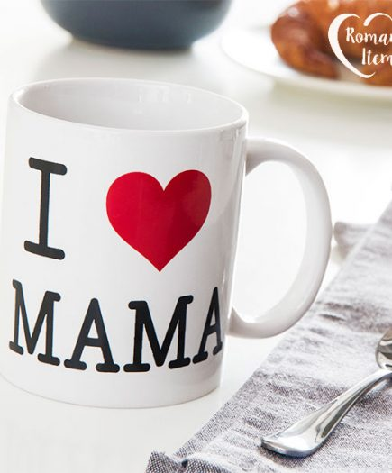 xekios Tasse I Love Mama Romantic Items
