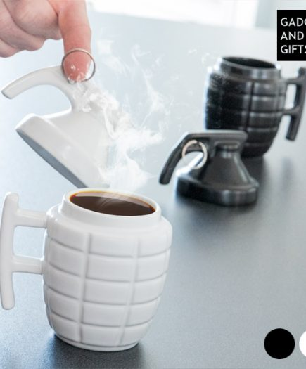 xekios Tasse Grenade Gadget and Gifts