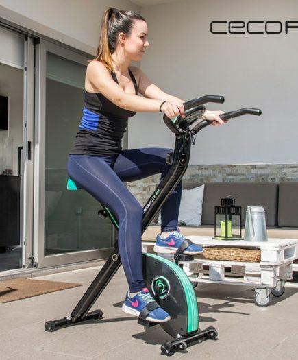 xekios Vélo d'Appartement Pliable Cecofit X-Bike