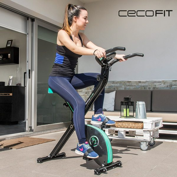 xekios Vélo d'Appartement Pliable Cecofit X-Bike