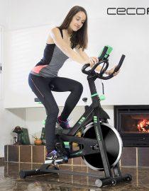 xekios Vélo d'Appartement Magnétique Pliable Cecofit Pro 7016