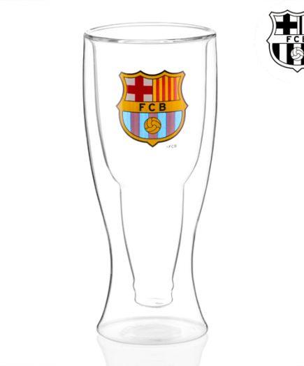 xekios Verre à Bière à Double Fond FC Barcelone