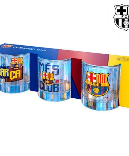 xekios Verres à Shot FC Barcelone (pack de 3)