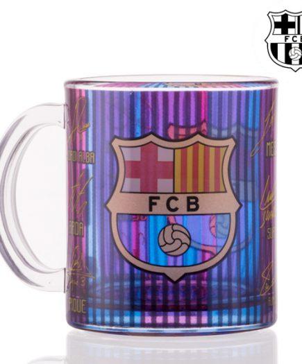 xekios Tasse FC Barcelone Signatures