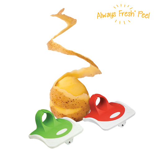 xekios Bague Épluche-Légumes Always Fresh Peel (pack de 2)