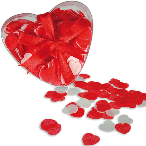 xekios Confetti de Bain Grands Coeurs