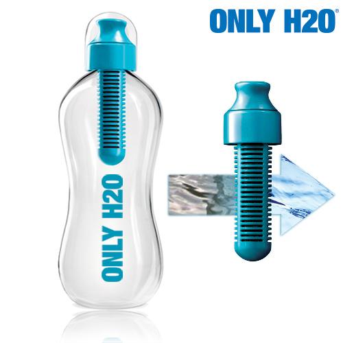 xekios Bouteille avec Filtre de Carbone Only H2O